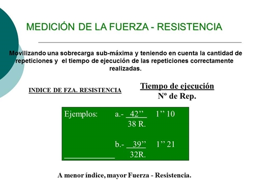 fuerza resistencia que es
